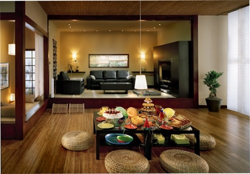 japanese dining room decoration - interior design