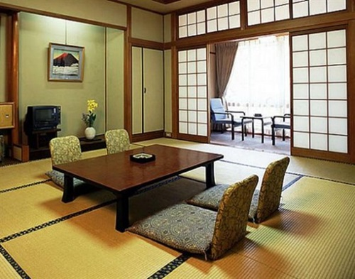 ... Japanese dining room decoration ...