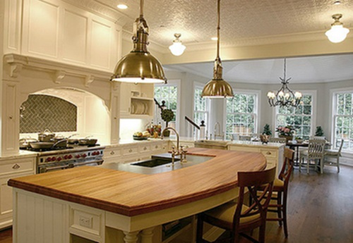 Kitchen Island Designs .