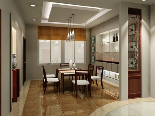 Latest trends in dining room designs interior design Dining room designs 2014