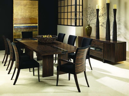 Latest trends in dining room designs interior design - Latest dining room trends to follow ...