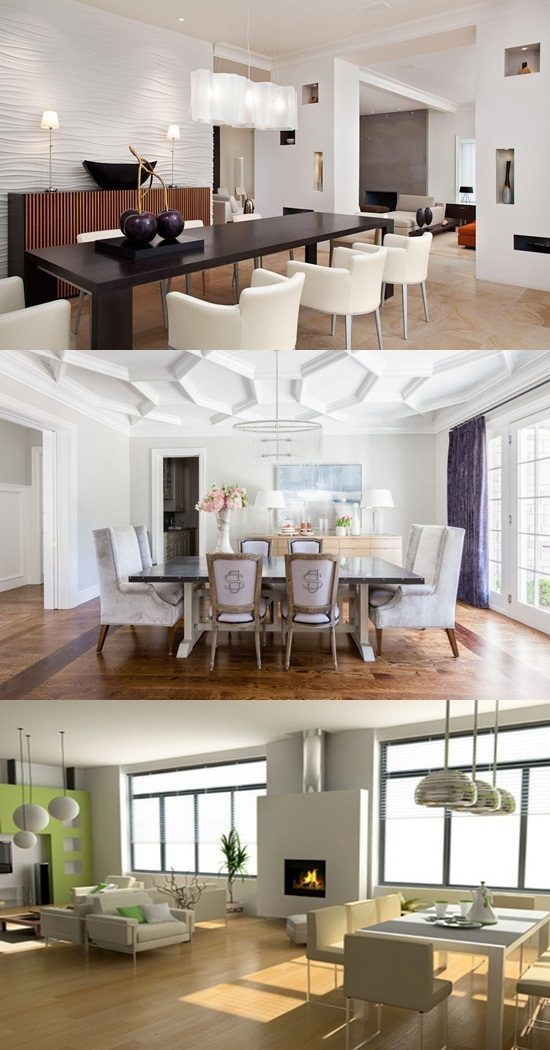 Etonnant Latest Trends In Dining Room Designs