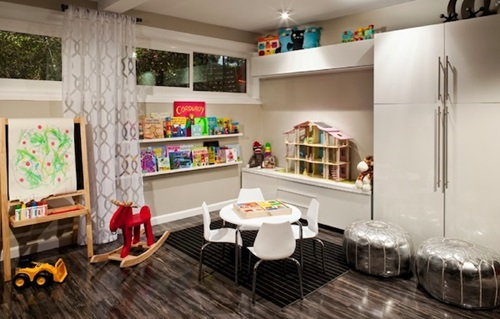 Living room storage spaces for the kids 39 toys interior design for Living room storage for toys