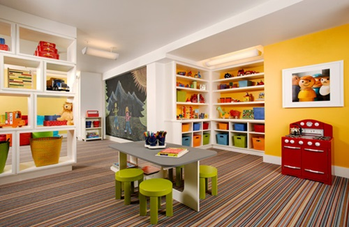 Living Room - Storage Spaces for the kids toys