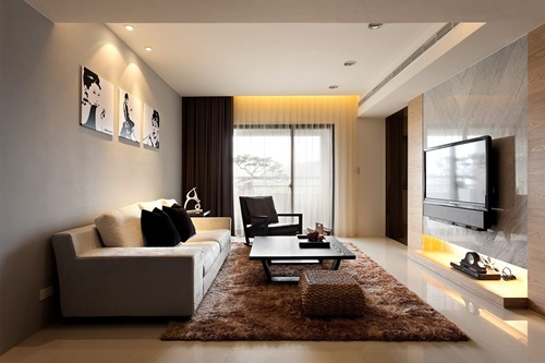Luxurious Modern Living Room Curtain Design Luxurious Modern Living Room  Curtain Design ... Part 33
