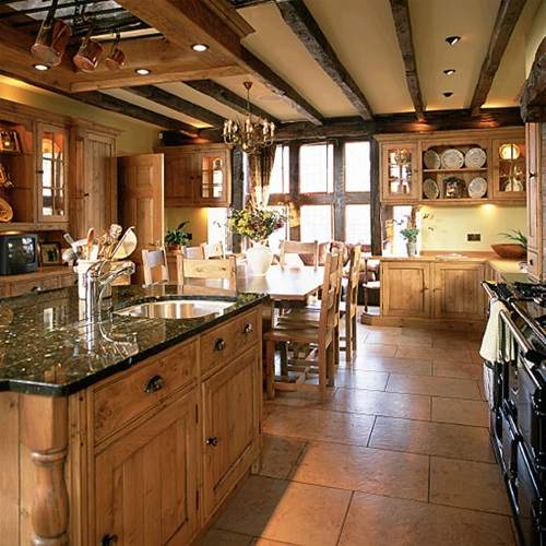 Modern country kitchens design interior design for Pictures of country kitchens