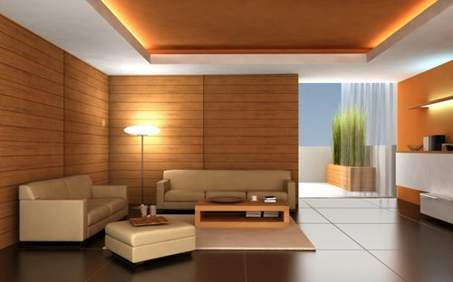 Natural Living Room Design