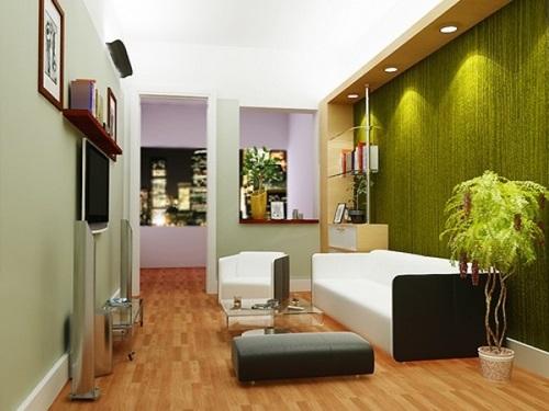 Natural Living Room Design