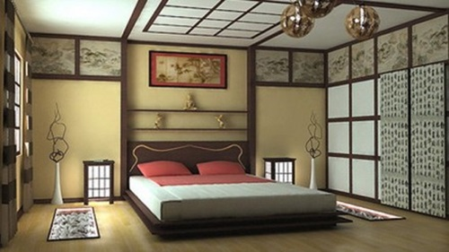 Oriental Interior Design oriental bedroom interior design - interior design