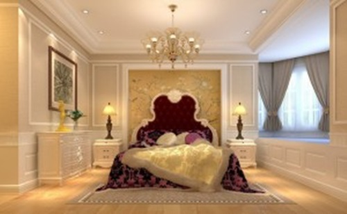 Oriental Bedroom Interior Design