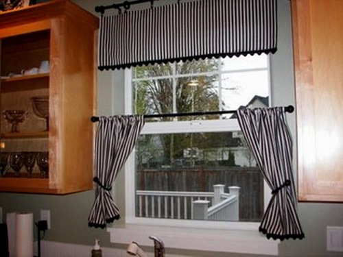 Rustic italian kitchen curtain designs interior design - Country kitchen curtain ideas ...