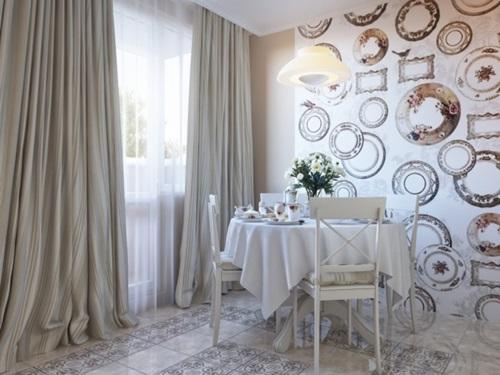 Rustic Italian Kitchen Curtain Designs