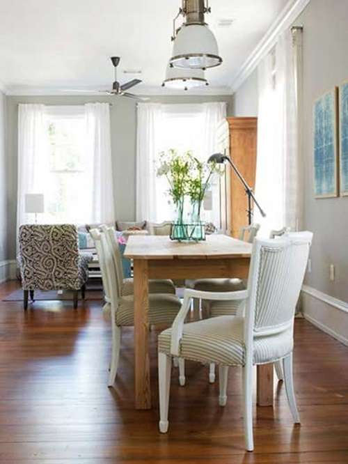 Small dining room designs interior design for Elle decor best dining rooms