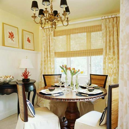 Small dining room designs interior design for Small dining area ideas