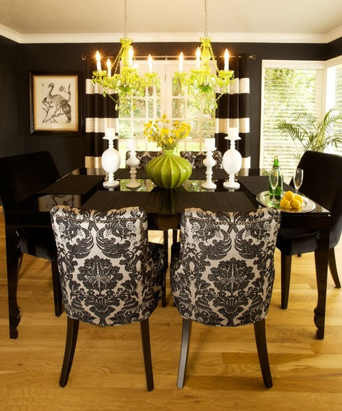 Small dining room designs interior design for Modern dining room table centerpiece ideas