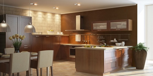 The kitchen golden triangle design interior design for Perfect kitchen triangle