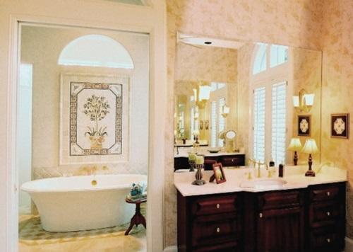Tips for designing your bathroom interior design - Bathroom wall decoration ideas ...