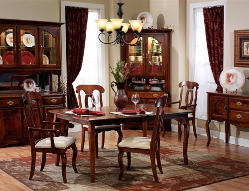 traditional french dining room design interior design. Black Bedroom Furniture Sets. Home Design Ideas