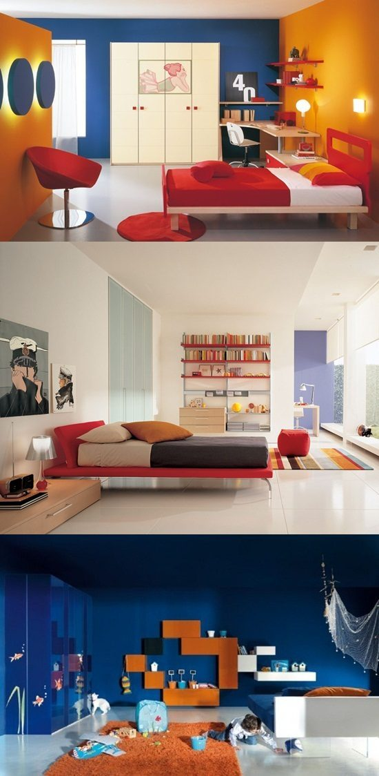Ultra-Modern Kids Bedroom Designs - Interior design