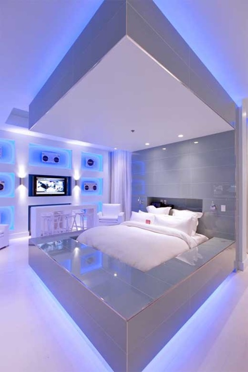ultramodern bedroom furniture – ultramodern style - interior design
