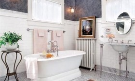 Victorian Bathroom Curtain Ideas