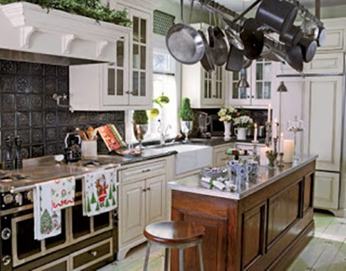 Victorian Kitchen Curtain Ideas - Victorian Style