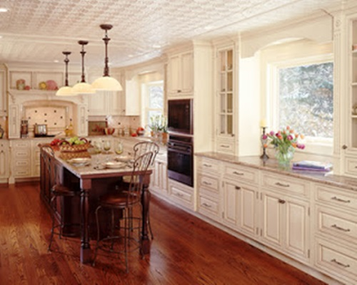 Victorian kitchen curtain ideas victorian style for Kitchen ideas victorian