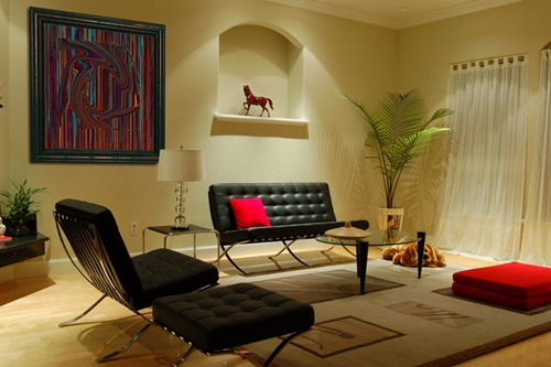 Zen Living Room Design - De-clutter, Color and Furniture