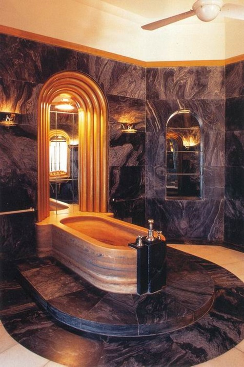 Achieving the Glamour of an Art Deco Bathroom