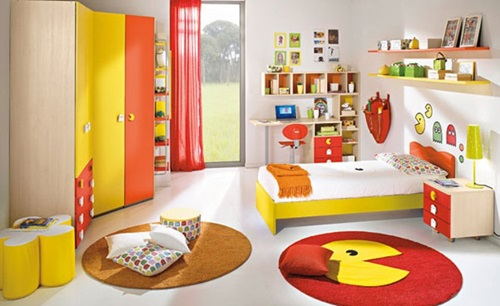 advises to design your child's bedroom - interior design