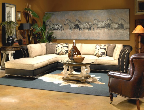 african safari living room ideas interior design. Black Bedroom Furniture Sets. Home Design Ideas