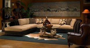 African Safari Living Room Ideas Part 77