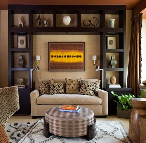 Interior Design Ideas: African Safari Living Room Ideas
