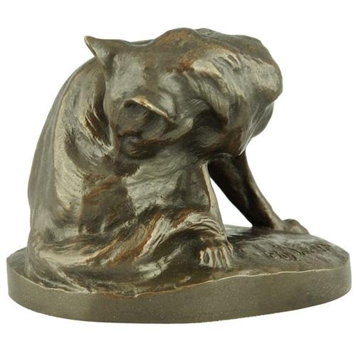 Antique Bronze Sculptural Furniture