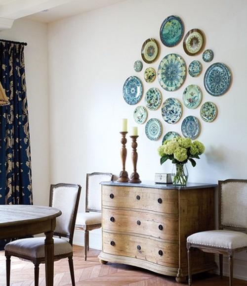 Antique Decorative Plates Room