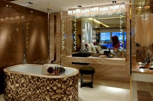 25 Brilliant Beautiful Bathroom Lighting | eyagci.com
