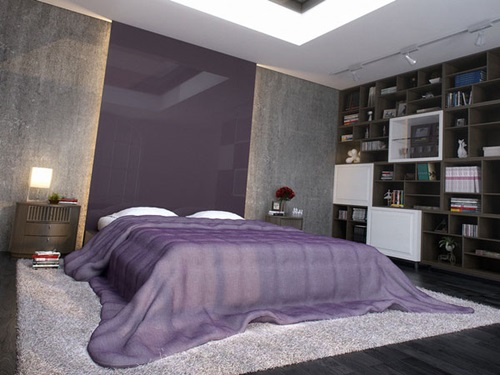 Bedroom Color Schemes that offers Ethereal Beauty