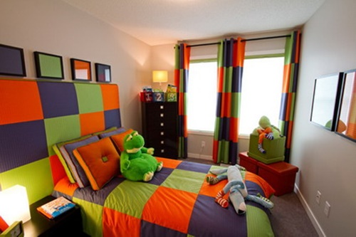 Boys Bedroom Curtains Designs