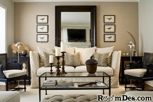 Budget friendly updates for a small living room interior How to decorate a living room cheap