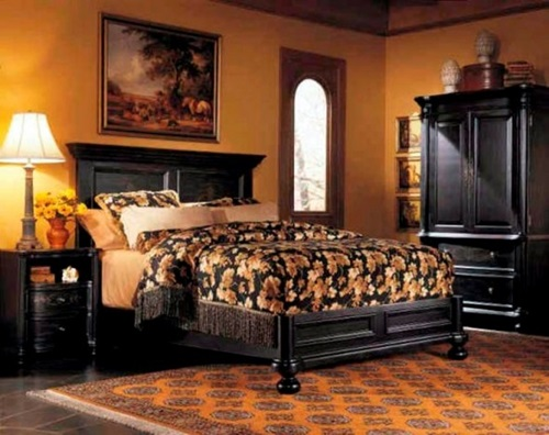 Classic Bedroom Interior Design