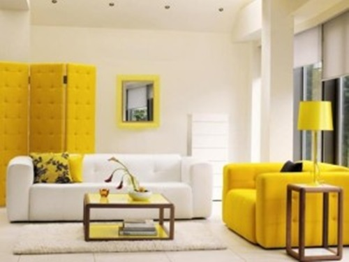 Colors That Make Rooms Look Bigger Inspiration With Yellow Living Room Design Ideas Picture