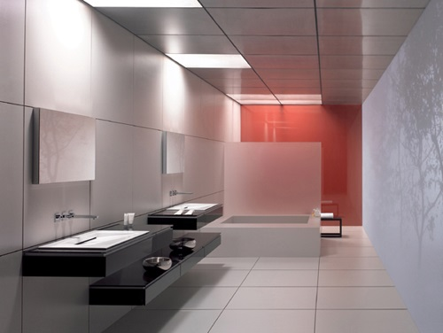 Commercial bathroom design interior design for Washroom renovation ideas
