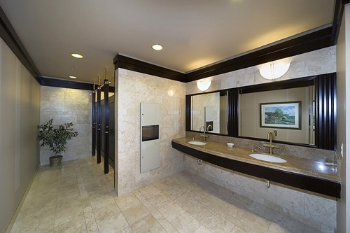 Commercial Bathroom Design - Interior design