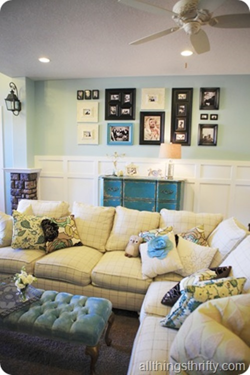 ... Cottage Living Room Curtain Ideas ...