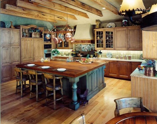 ... Country And Modern Themes For Kitchens ...