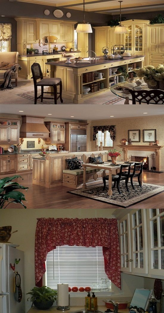 Country And Modern Themes For Kitchens