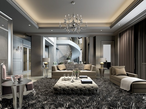 Creative living room interior design interior design for Image interior design living room
