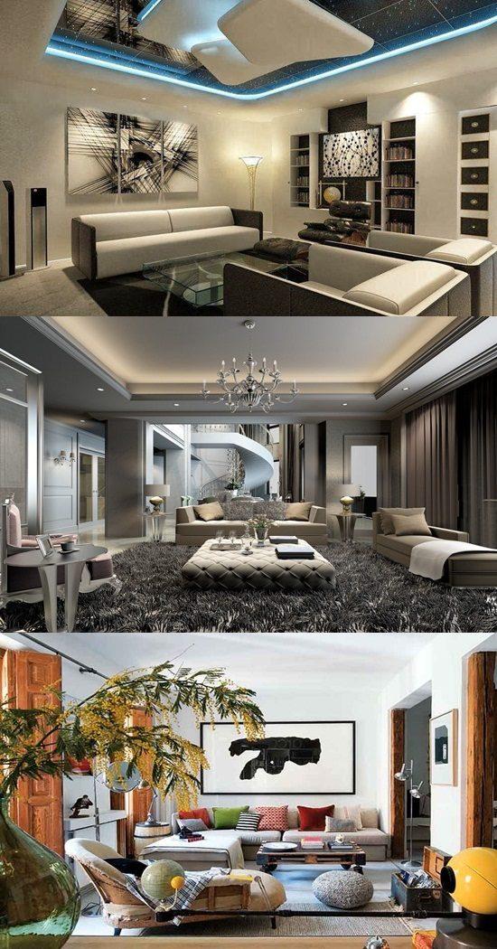 Creative Living Room Design On Budget: Creative Living Room Interior Design