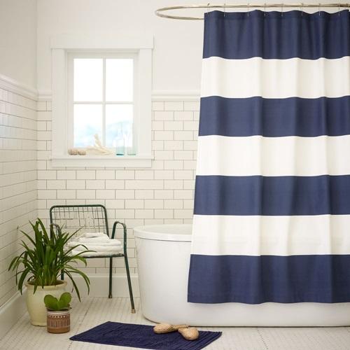 Curtain Bathroom - The Right Shower Curtain For Your Bathroom