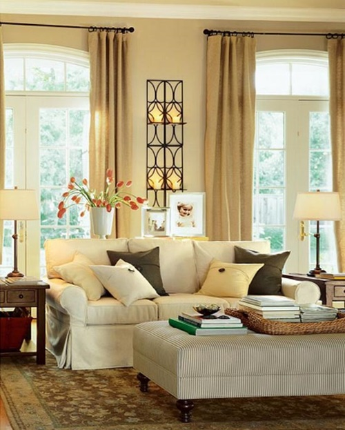 ... Curtain Design Ideas Applicable To Your Living Room ...